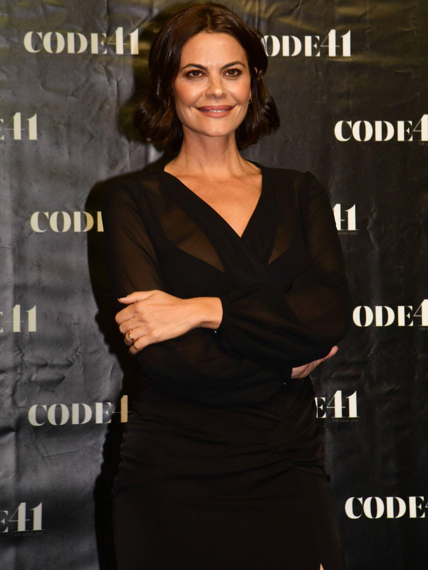 María José Suárez, durante la Code 41 en Sevilla. (Cordon Press)