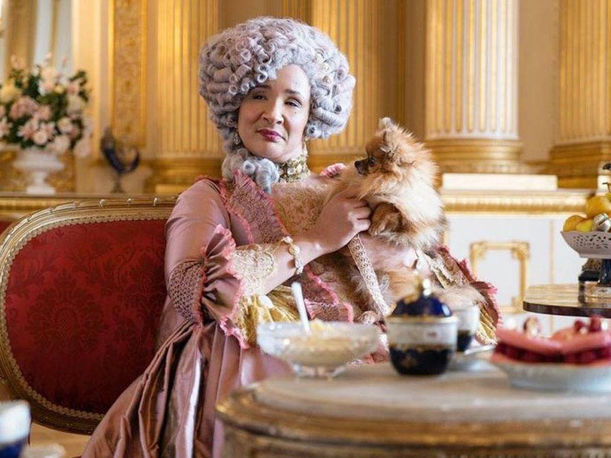 Foto: La reina Carlota, en 'Los Bridgerton'. (Netflix)