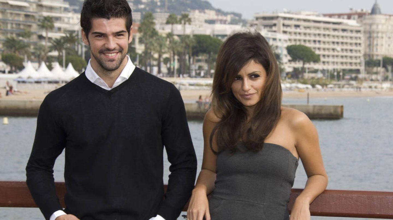 Mónica y Miguel Ángel posando en Cannes en 2008. (Gtres)