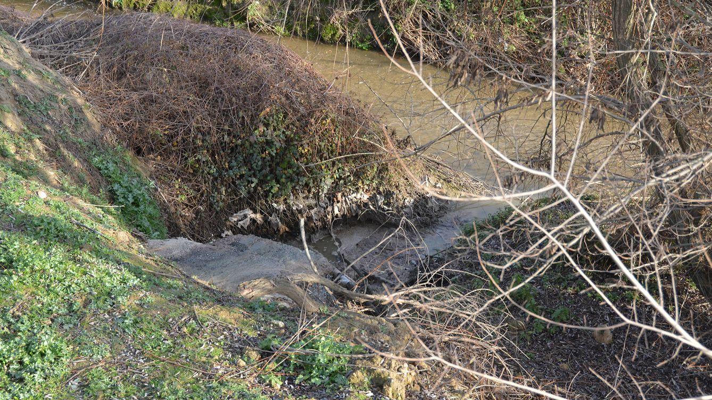 Una universidad lleva 15 años arrojando aguas fecales a un afluente del Guadarrama