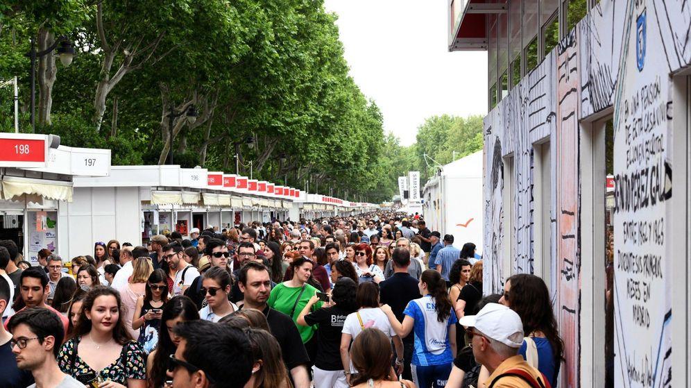 Foto: Feria del libro de Madrid en 2019