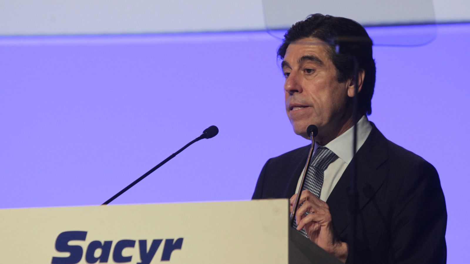 Foto: El presidente de Sacyr, Manuel Manrique