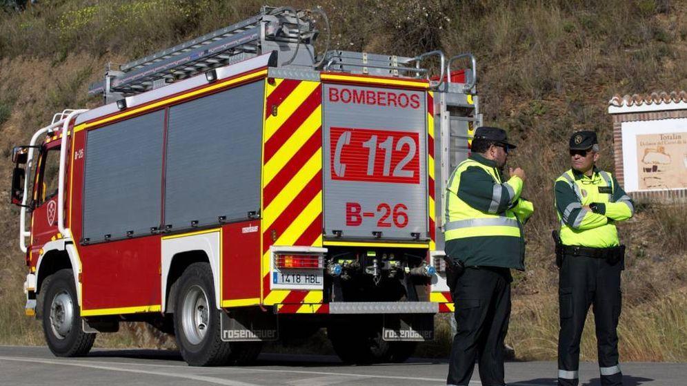 Foto: Camión de bomberos del 112. (EFE)