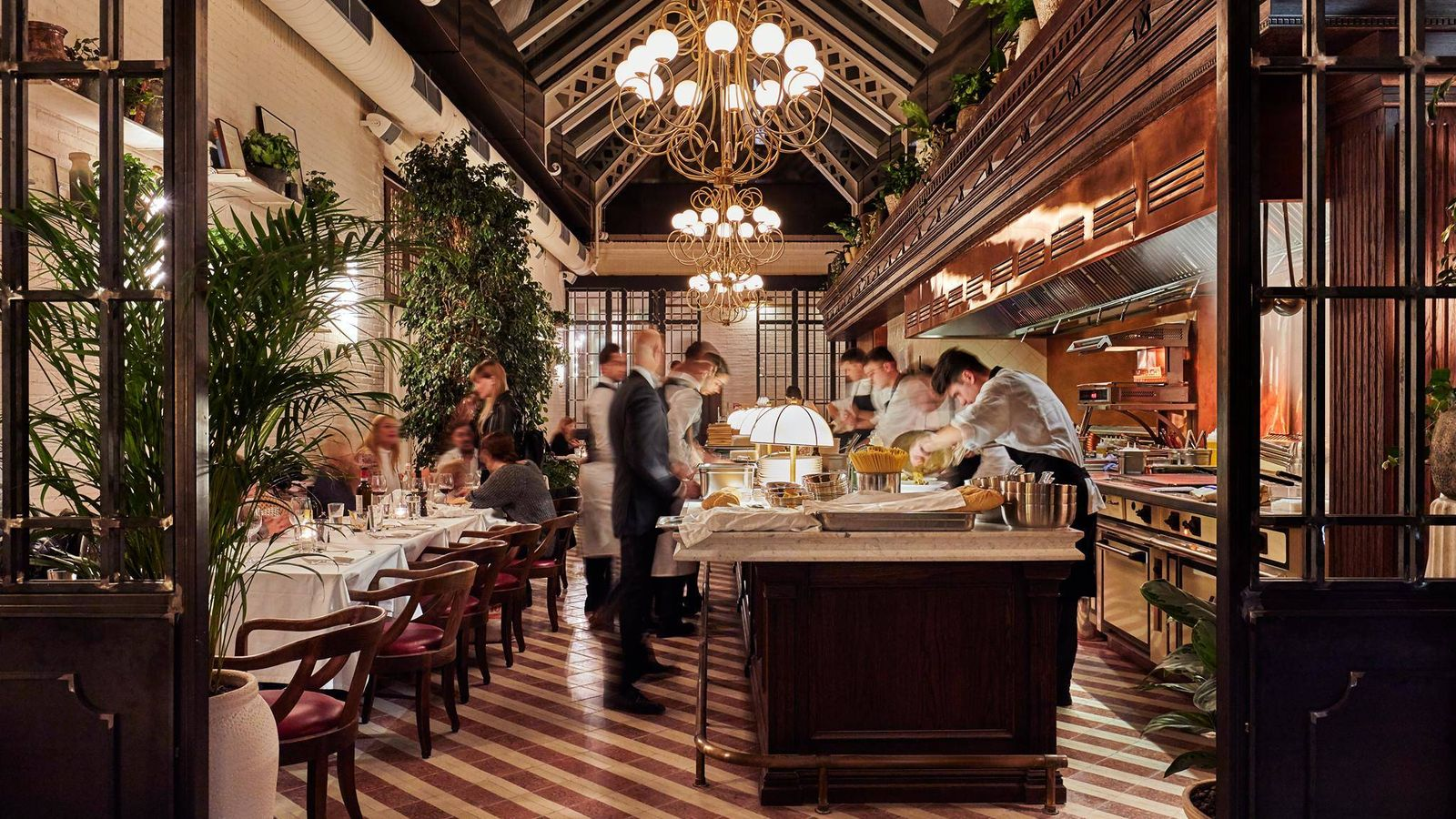Foto: El restaurante Cecconi's Barcelona, uno de los más solicitados del momento. (Cortesía)