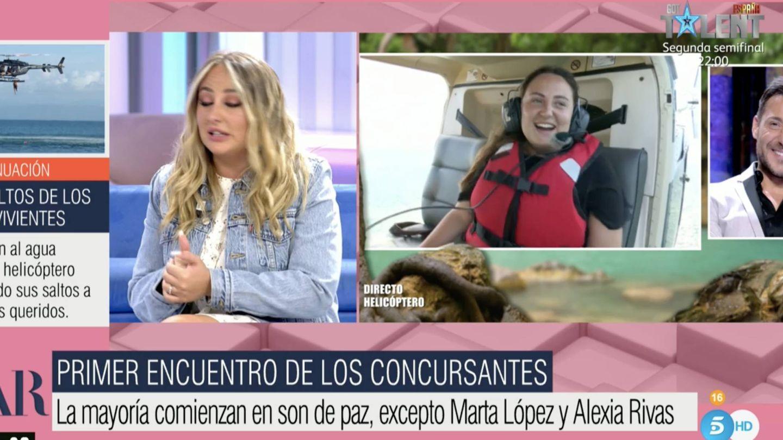 Rocío Flores, en 'El programa de Ana Rosa'. (Mediaset)