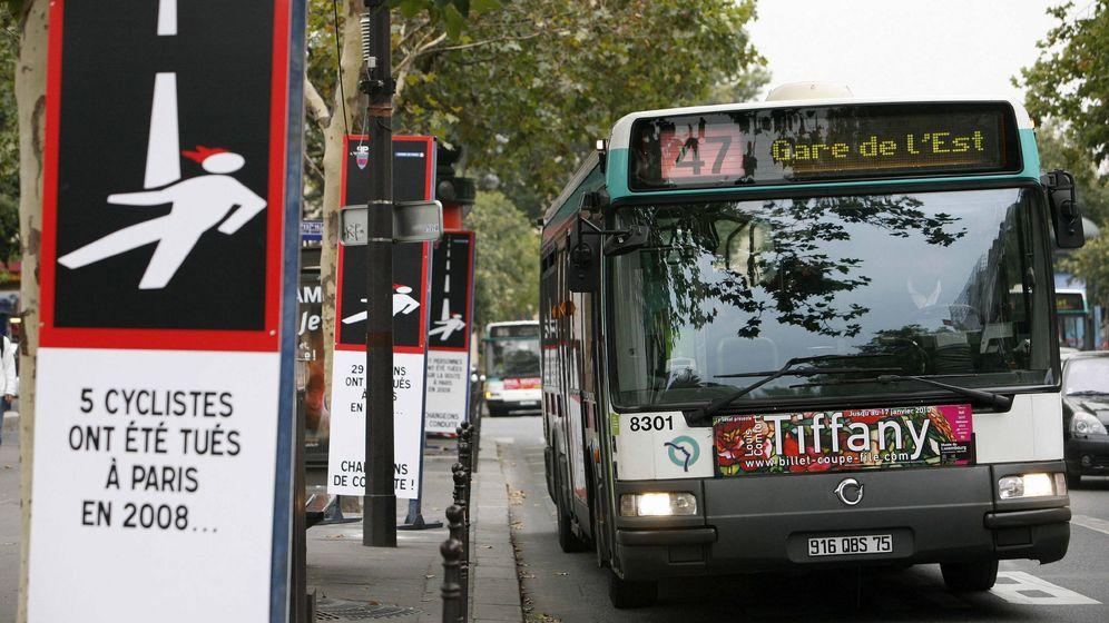 Foto: Los transportes de París han abierto un proceso disciplinario al conductor (EFE/Lucas Dolega)