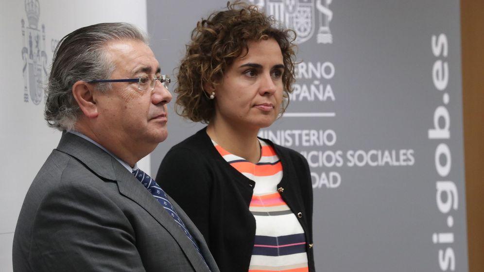 Foto: Juan Ignacio Zoido y Dolors Monserrat. (EFE)