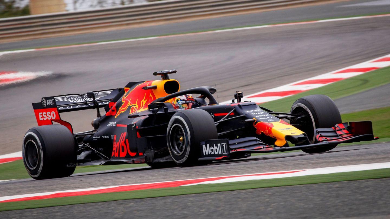 Verstappen, durante los test posteriores al Gran Premio de Baréin. (EFE)