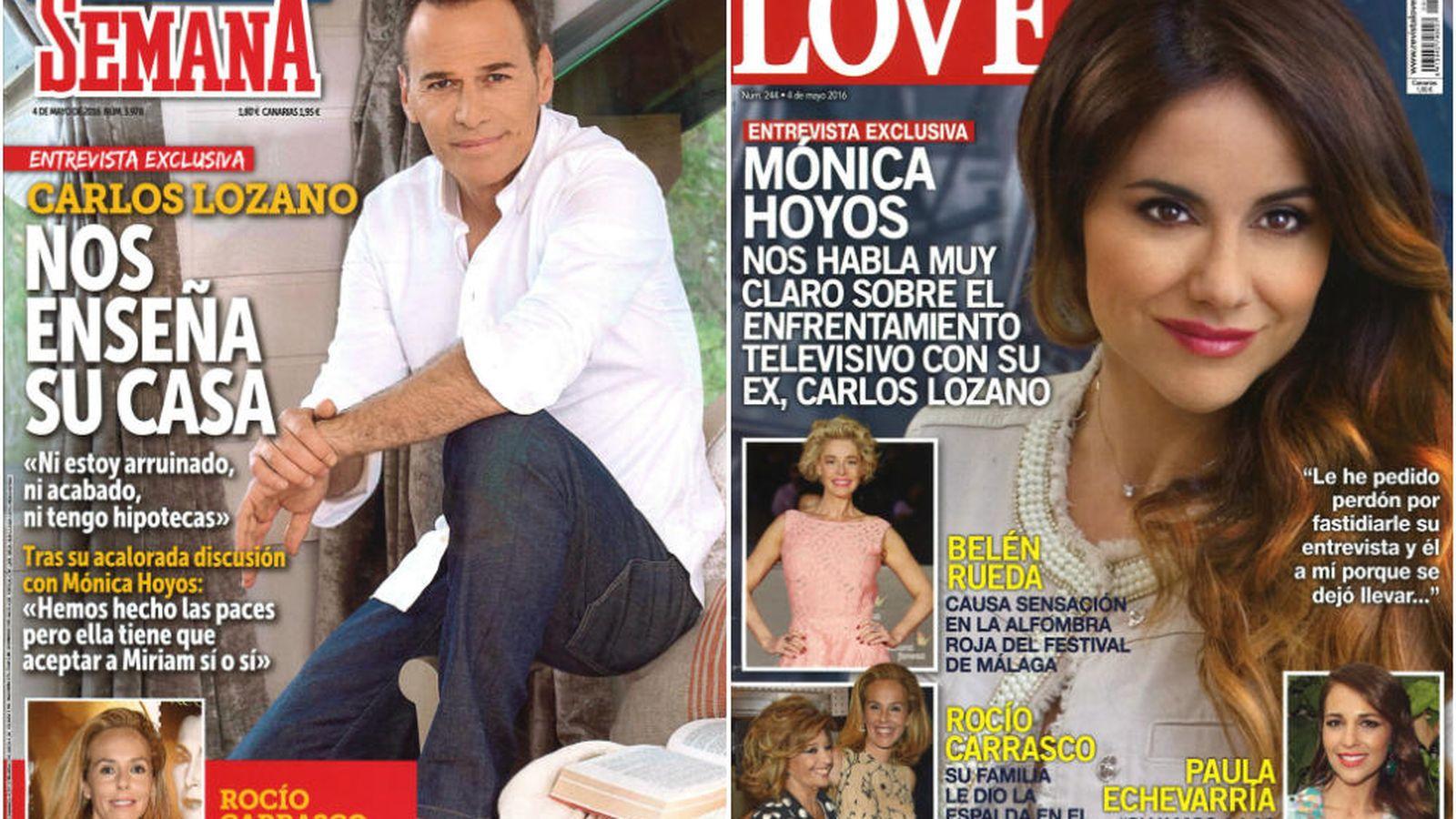 Foto: Portada de 'Semana' y 'Love'