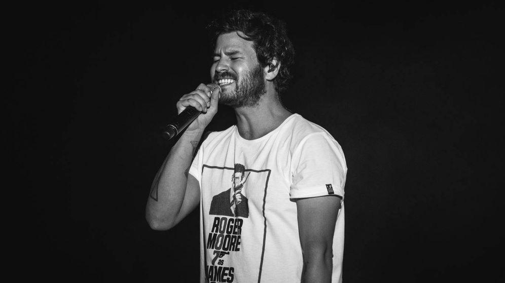 Foto: Willy Bárcenas durante el concierto. (Cortesía)