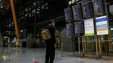 Aena registra 5,4 millones de pasajeros en septiembre, un 80% menos