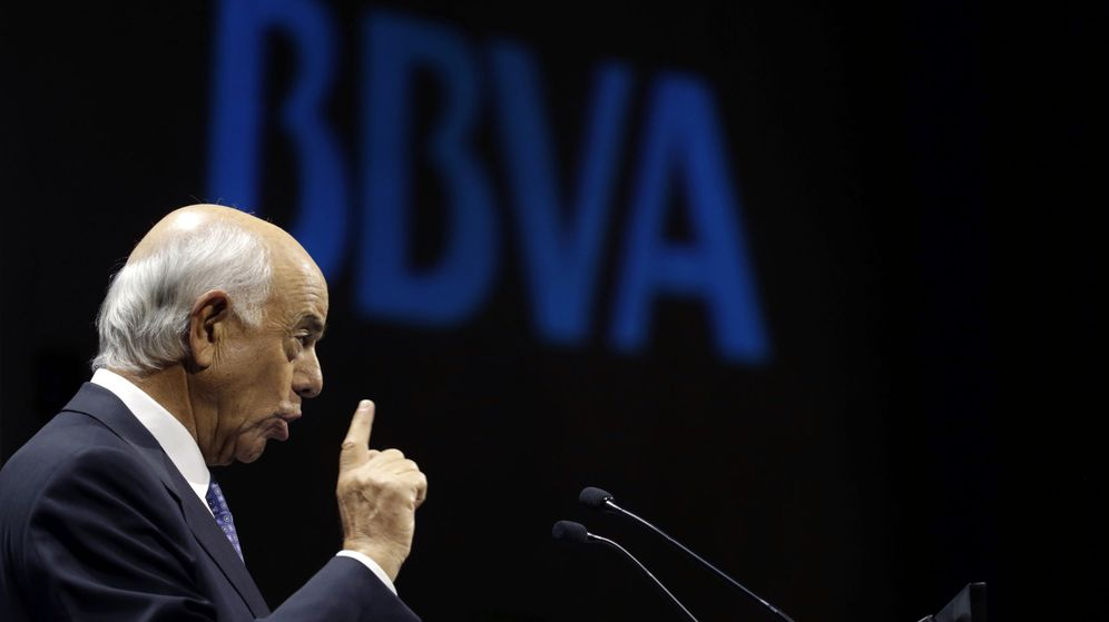 Foto: El presidente del BBVA, Francisco González. (EFE)