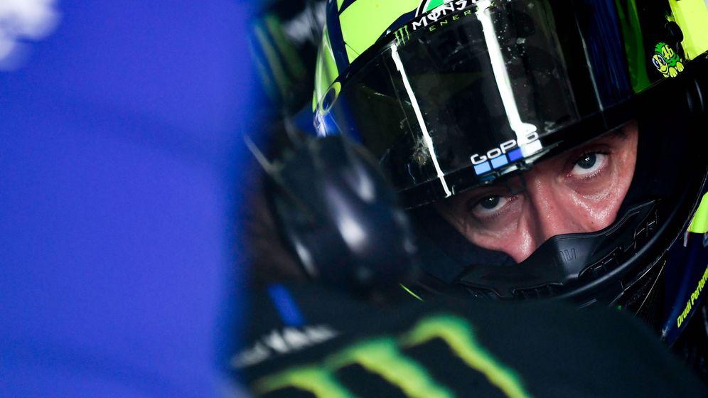 Foto: Valentino Rossi durante esta temporada. (EFE)