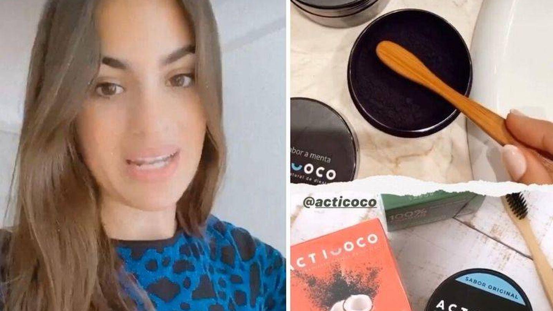 Marta Lozano blanquea sus dientes con este producto. (Instagram,@martalozano)