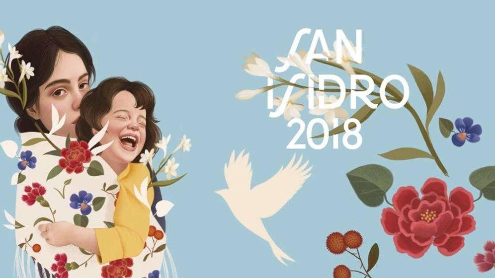 Foto: Cartel de las fiestas de San Isidro 2018 | Madrid