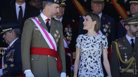 Letizia vuelve a confiar en Carolina Herrera para celebrar once años de amor