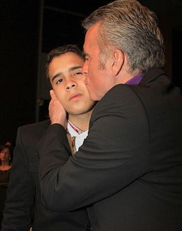 Foto: El torero José Ortega Cano con su hijo