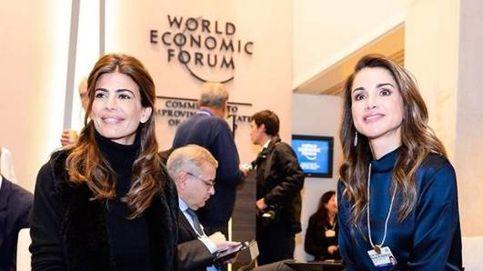 Rania, Máxima y Juliana Awada, el encuentro de tres 'reinas' en Davos