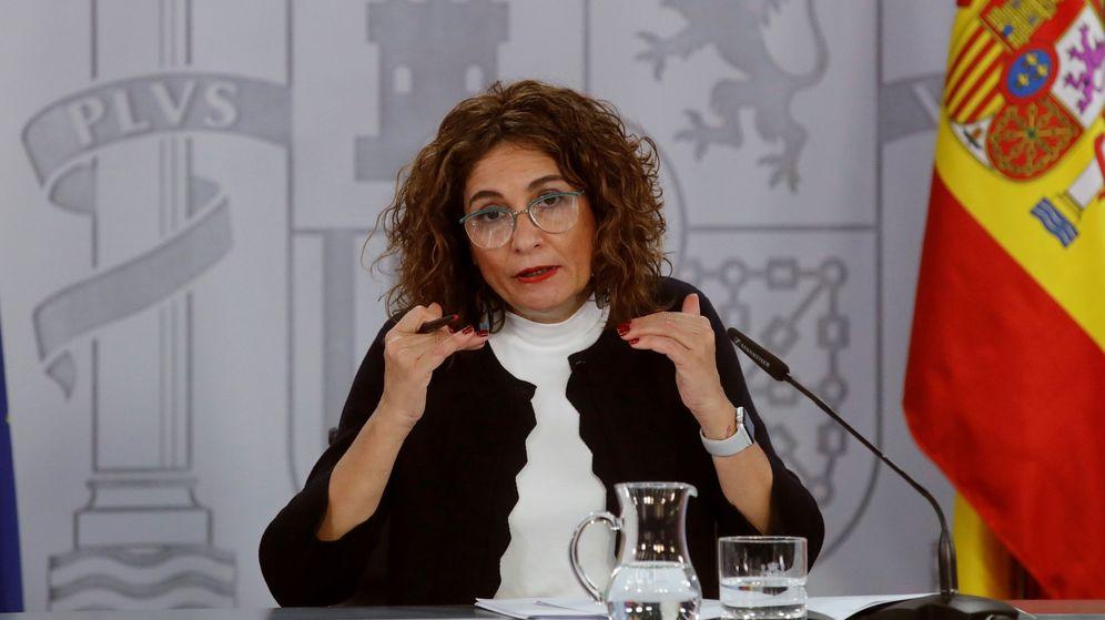 Foto: La ministra de Hacienda y portavoz, María Jesús Montero. (EFE)