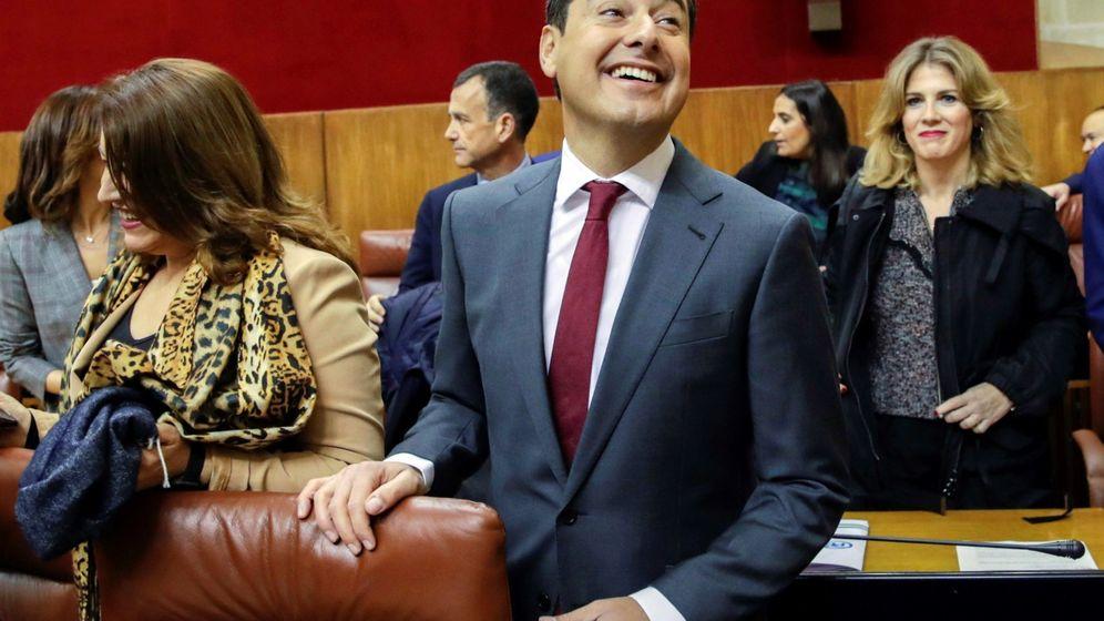 Foto: El nuevo presidente de la Junta de Andalucía, Juanma Moreno. (EFE)