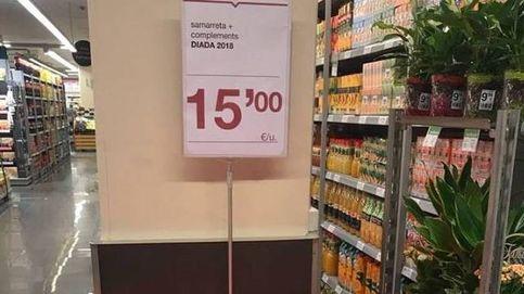 El primer kit 'indepe' para esta Diada ya está en los súper Bon Preu por 15 euros
