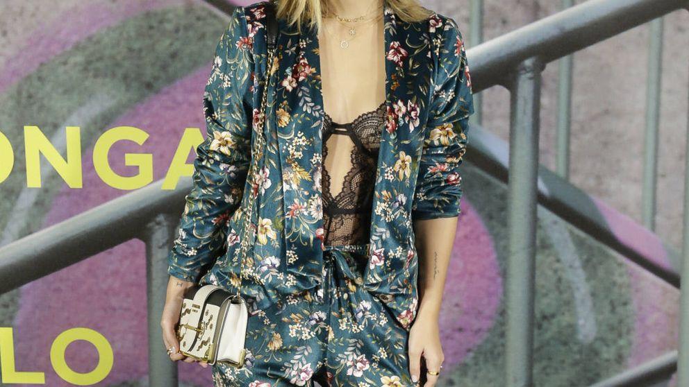 Copia el look pijamero, lencero y sugerente de Laura Escanes
