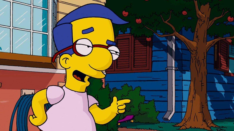 El personaje de Milhouse. (Fox)