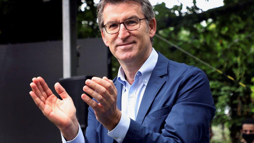 Foto: Alberto Núñez Feijóo se encuentra en plena campaña ante las elecciones del 10 de julio (EFE/Xoán Rey)