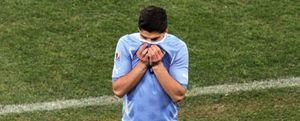 Luis Suárez podría perderse una hipotética final del Mundial
