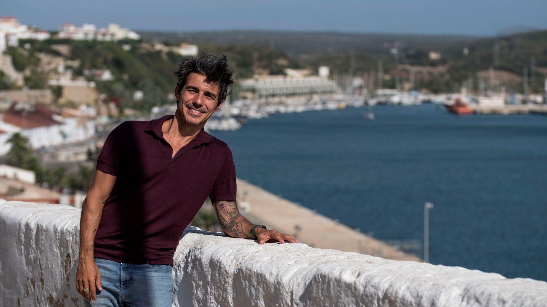 Joaquín de Luz, el año pasado en Menorca. (EFE)