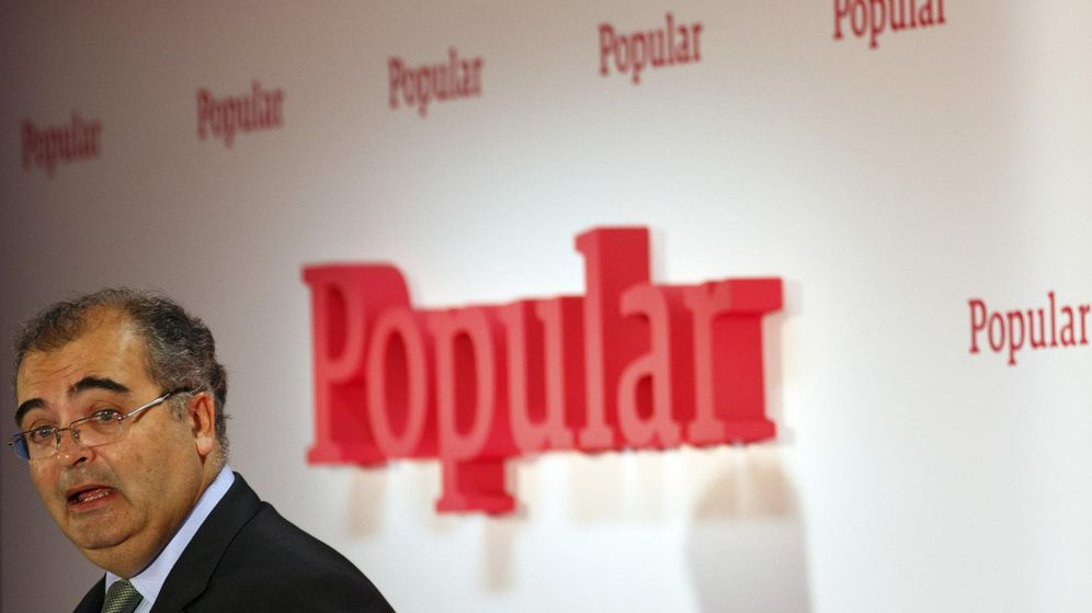 Foto: El presidente de Banco Popular, Ángel Ron. (Reuters)
