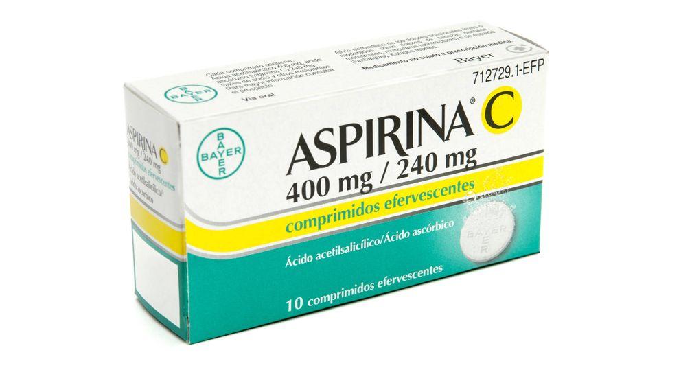 Retiran lotes de Aspirina C efervescente y Actron por deficiencias en el envase