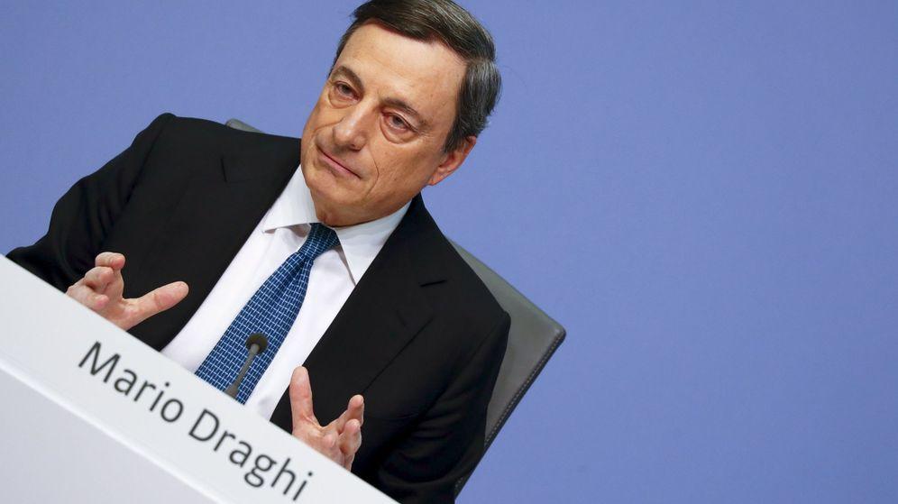 Foto: Fotografía de archivo del presidente del BCE, Mario Draghi. (Reuters)