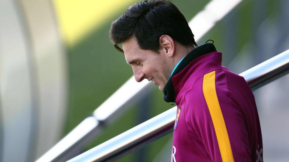 Foto: El jugador del Barça, Leo Messi. (EFE)