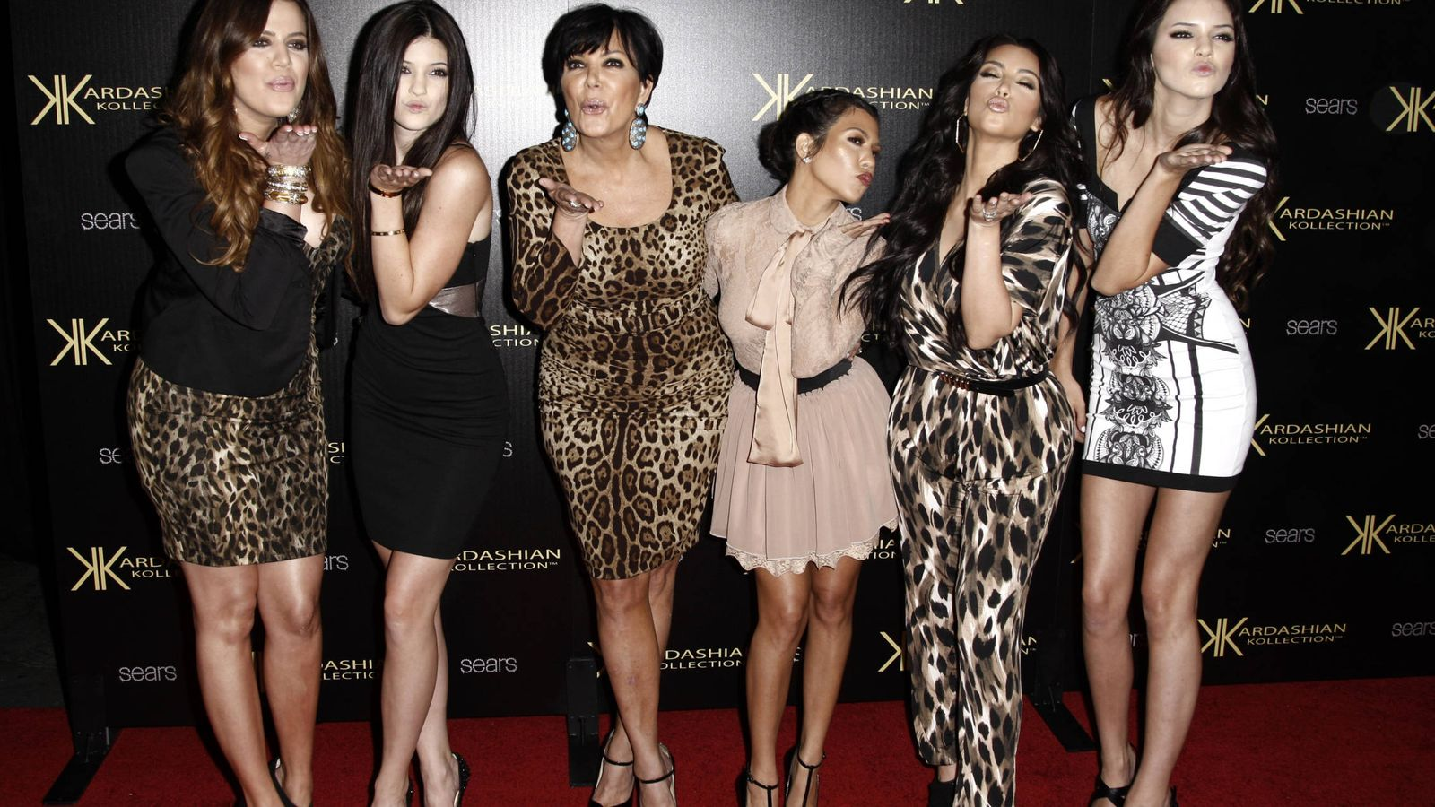 Foto: Las féminas del clan Kardashian en una imagen de archivo. (Gtres)