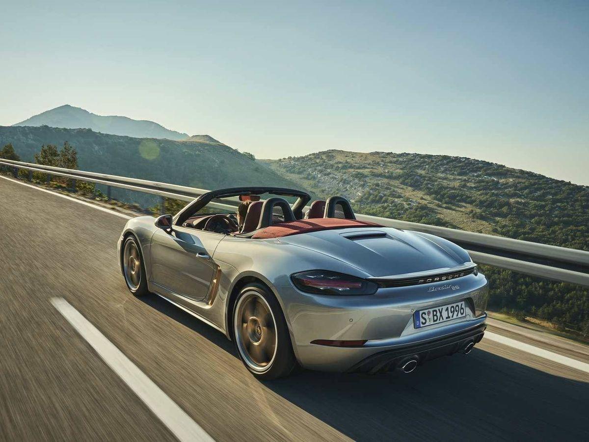 Foto: Porsche Boxster 25 aniversario, la máxima expresión del placer de conducir.