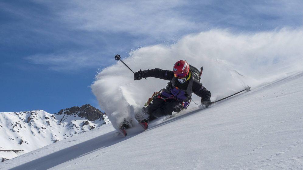 Foto: Aymar Navarro y su película del esquiador extremo