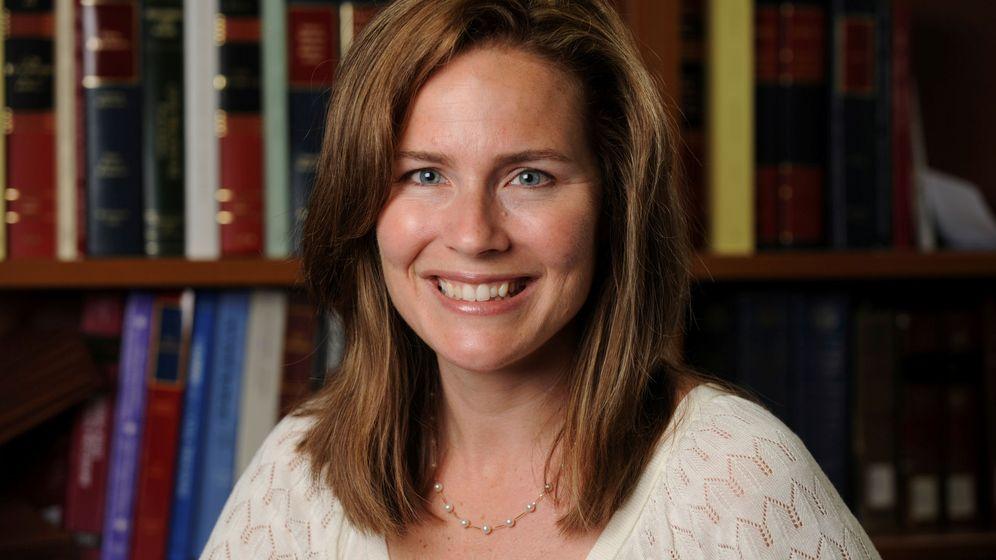 Foto: La jueza conservadora Amy Coney Barrett. (Reuters)