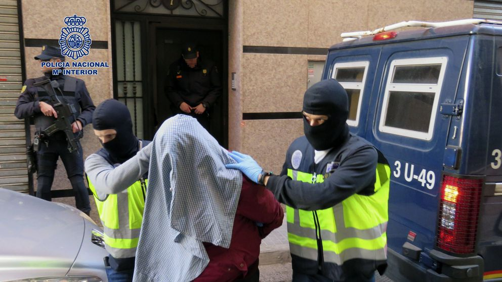Siete detenidos por vinculación con el EI y otros grupos terroristas