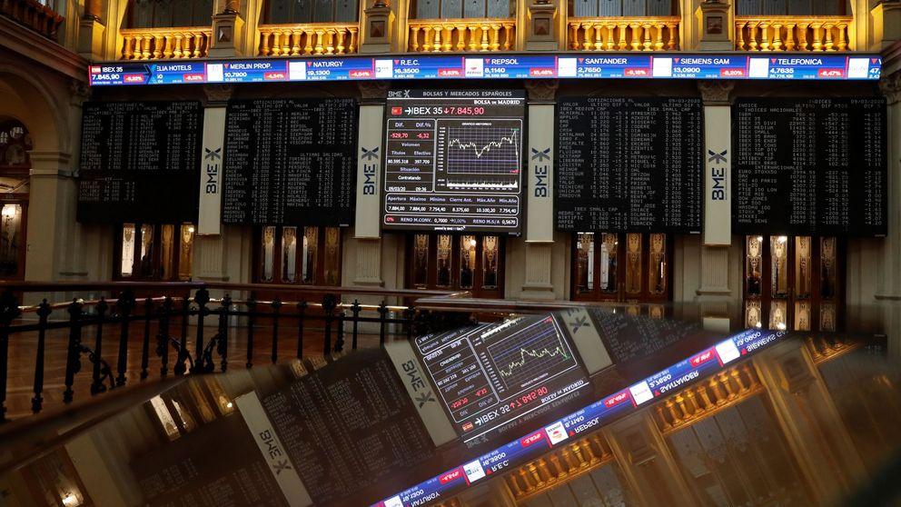 El Ibex remonta y minimiza las pérdidas tras una sesión de fuertes caídas