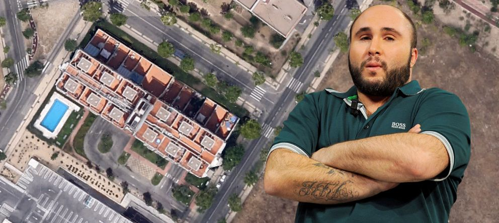 Foto: Kiko Rivera con una imagen aérea de su loft en Madrid (Montaje: Vanitatis)