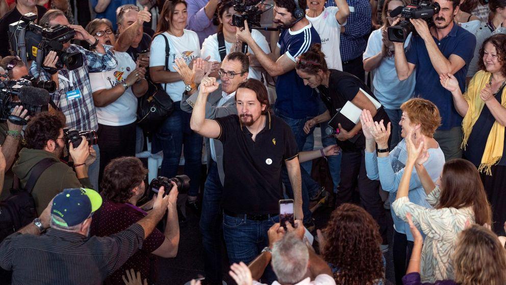 Iglesias pide el voto a los socialistas de corazón que quieren gobierno con UP