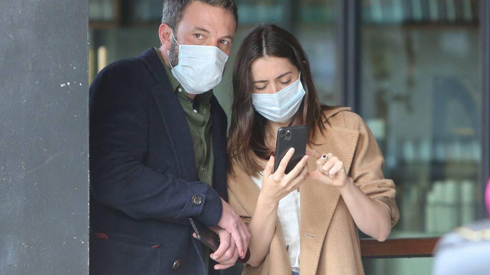 Foto:  Ben y Ana, durante un paseo en LA. (Cordon Press)