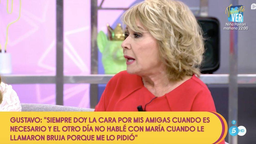 Mila Ximénez recrimina a Gustavo que no defendiera a sus compañeras