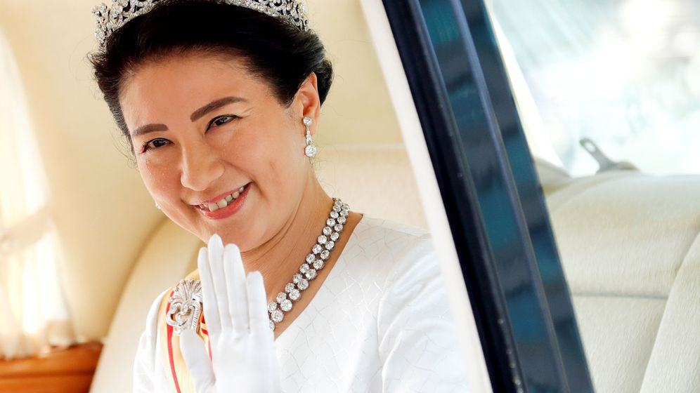 Foto: Masako luciendo la tiara de las emperatrices. (Reuters)