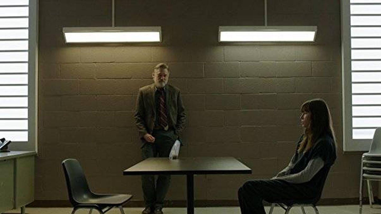 Uno de los encuentros de Ambros y Cora en prisión.