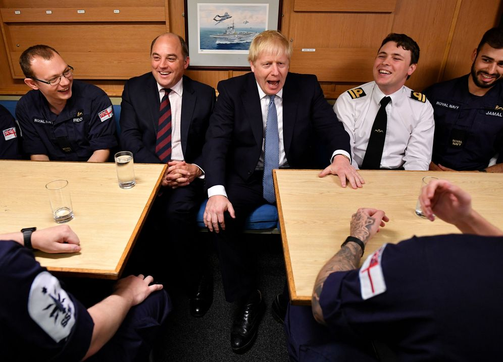 Foto: Boris Johnson. (Jeff J. Mitchell)