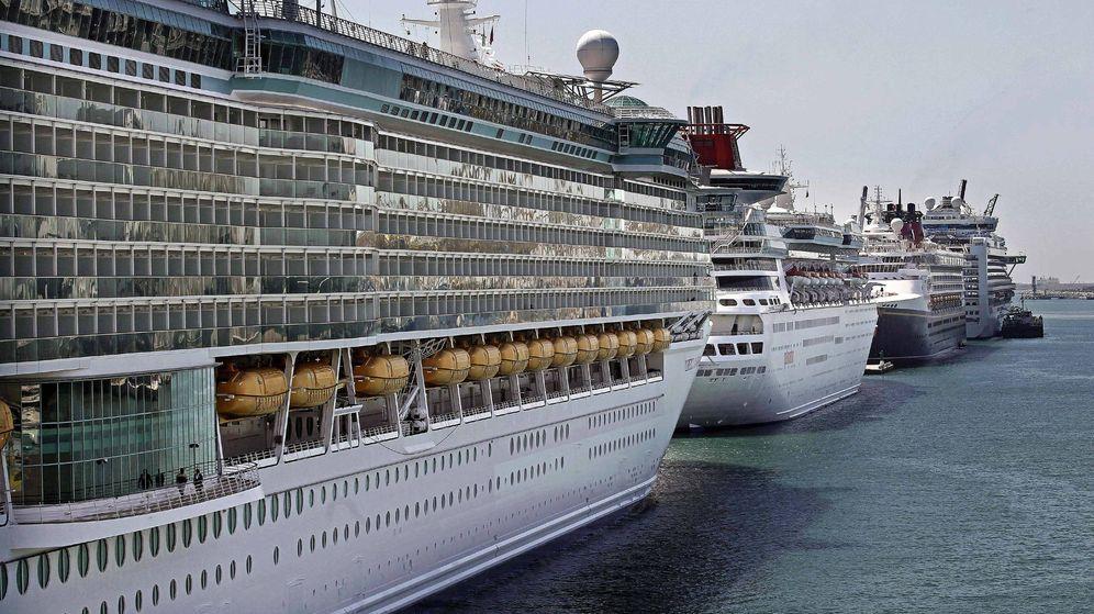 Foto: Cruceros atracados en Barcelona