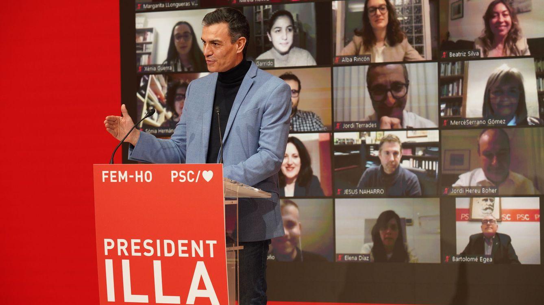 Arranca la campaña | Sánchez: Cataluña tiene la mayor financiación de su historia