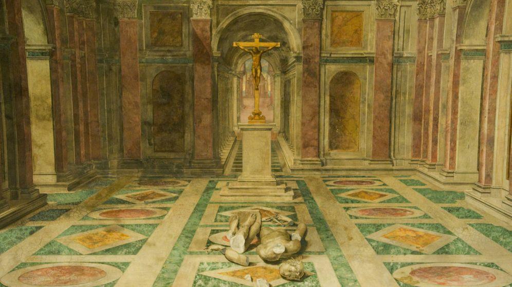 Foto: Tommaso Laureti - 'El triunfo del cristianismo' (1585)